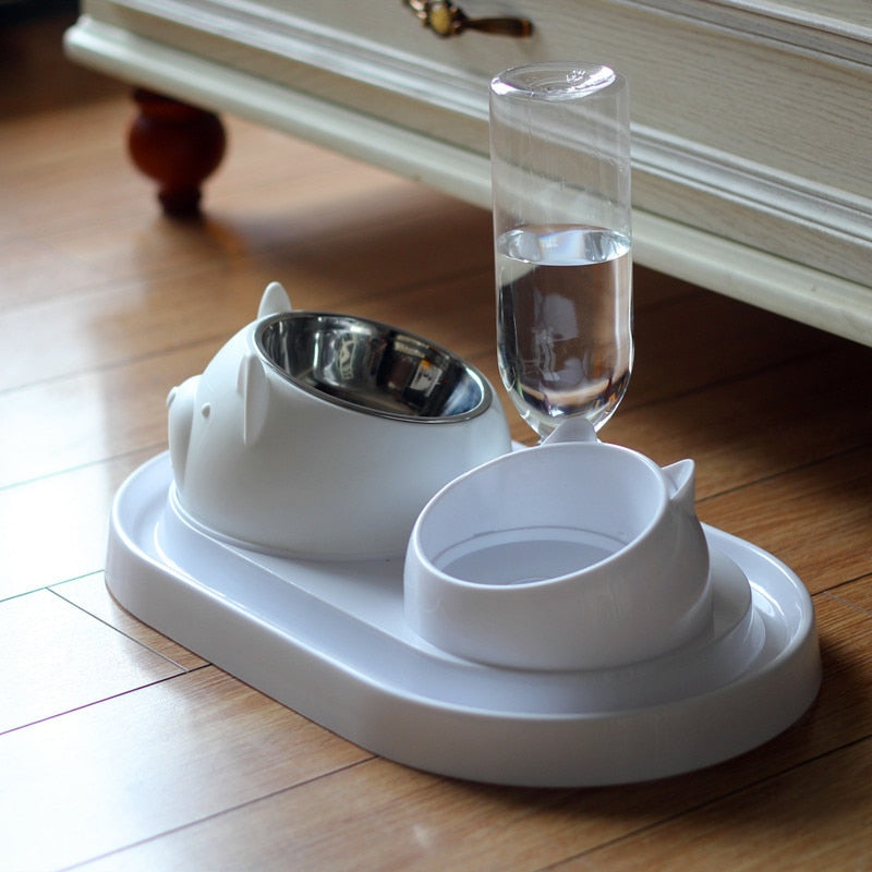 2 in 1 Cat shaped Bowl & Dispenser