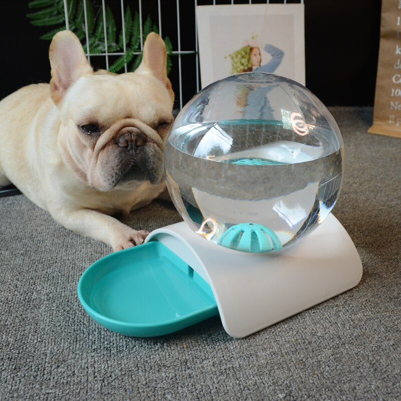 Automatic Pets Water Fountain Large Drinking Bowl For Pets Water Dispenser No Electricity