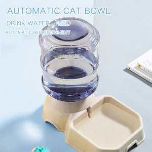 Automatic Feeder and water Dispenser