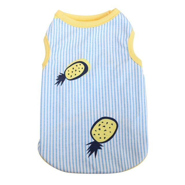 summer Pineapple vest