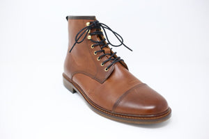 Shoe the Bear Curtis Boot Tan Leather