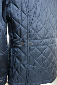 S4 Quilted Jacket Navy
