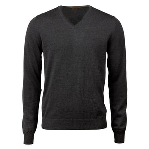 Stenstroms Charcoal Vneck Sweater