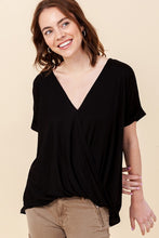 Load image into Gallery viewer, Radiance All Around Black V-Neck Top