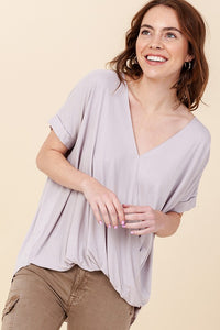 Radiance All Around Cloud V-Neck Top