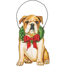 Bulldog Christmas Ornament (5470086955168)