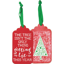 Getting Lit Christmas Tree Bottle Tag (5470111563936)
