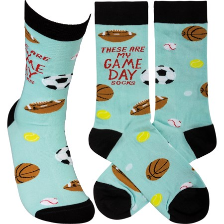 These Are My Game Day Socks LOL Socks (5526165913760)