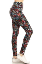 Load image into Gallery viewer, Flirt With Me Floral Print Leggings (5423907405984)