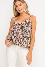 Load image into Gallery viewer, Call Me Maybe Black & Blush Top (5305274499232)