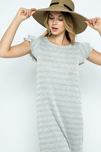 Femme Fatale Grey Tunic Dress