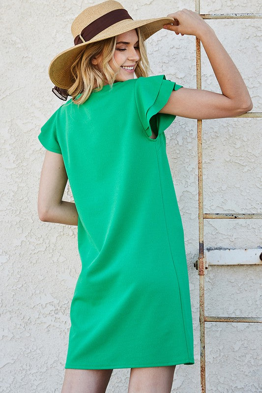 Say You Will Kelly Green Dress (6603226775712)