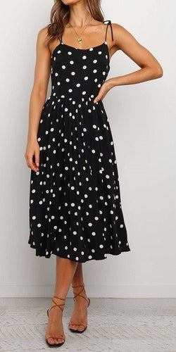 Happy Hearted Polka Dot Dress (5392618979488)