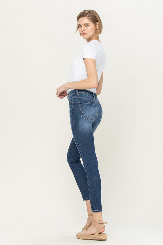 Flying Monkey High Rise Skinny Jeans (5521984159904)