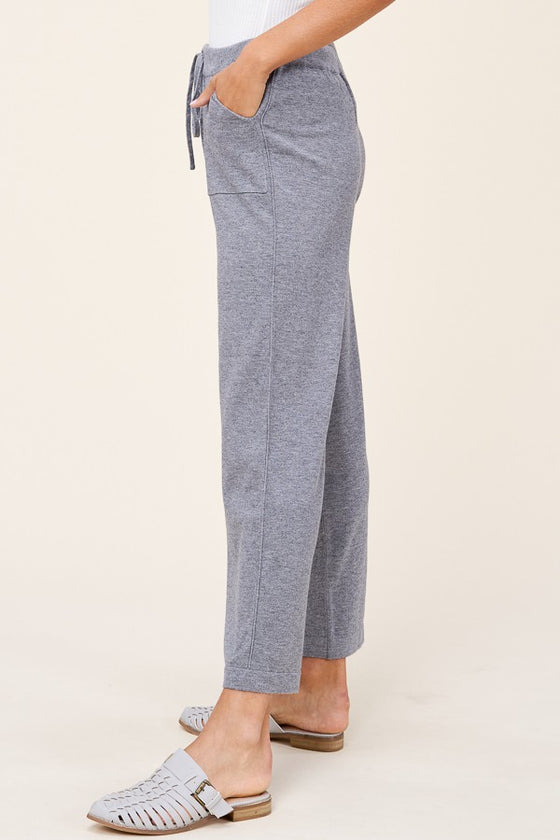 Best of My Love Heather Grey Sweatpants (5501398778016)