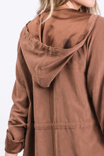 Load image into Gallery viewer, All You Need Is Love Chestnut Suede Jacket (5501395566752)