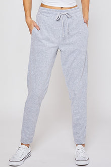 Better Now Terry Joggers in Heather Grey (6011128184992)