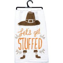 Let's Get Stuffed Dish Towel (5624394743968)
