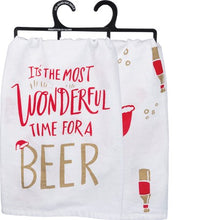 The Most Wonderful Time Dish Towel (5470017290400)