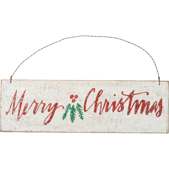 Merry Christmas Hanging Decoration (5165053771820)