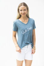Load image into Gallery viewer, Blue Gray Ali on the Boulevard Graphic Tee