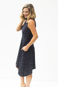 Not So Typical Navy Floral Dress