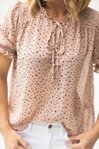 Creatively Classy Dusty Pink Top