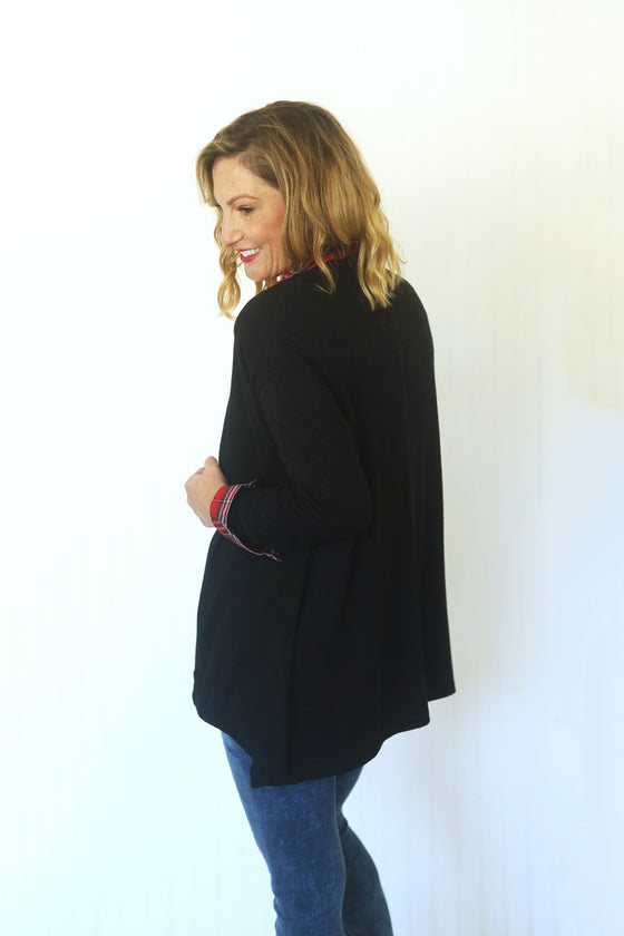 Got A Hold On Me Black Cardigan (5411734225056)