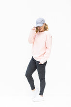 Load image into Gallery viewer, Make Me Blush Pink Sweatshirt