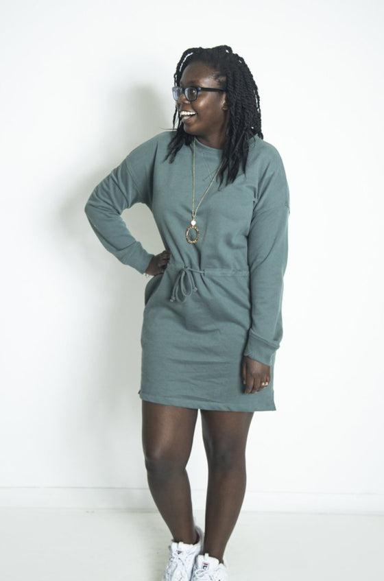 Effortless Appeal T.Green Dress (5809275568288)
