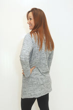 Load image into Gallery viewer, Sweet Escape Lt. Grey Cowl Neck Dress (5682350227616)
