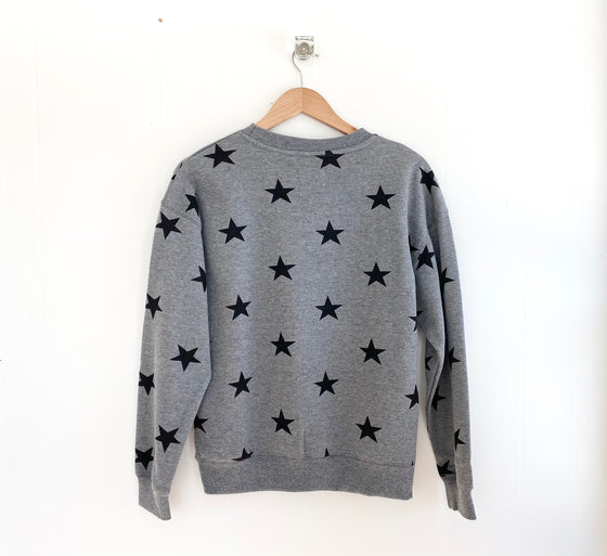 Star of My Heart Heather Grey Sweatshirt (5981545070752)
