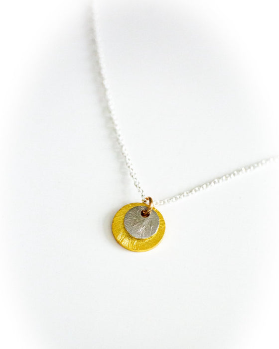 Darn Cute Disk Necklace (6050909323424)