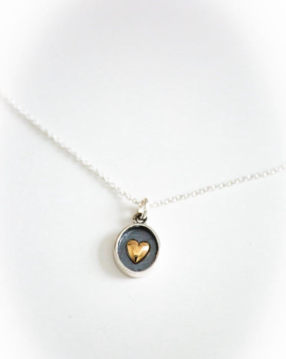 Heart of the Inner Circle Necklace (6004838465696)