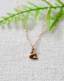 Bee-Youtiful Tiny Charm Necklace (4879645835308)