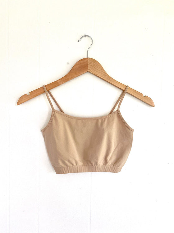Got You Covered Lt.Taupe Half-Cami Bralette (5558111076512)