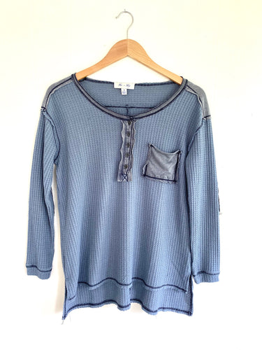 Better Than Ever Blue Thermal Top (5612189221024)