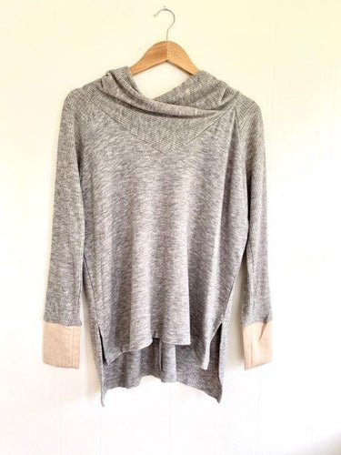 Chase Your Dreams Heather Grey Top (5738625237152)