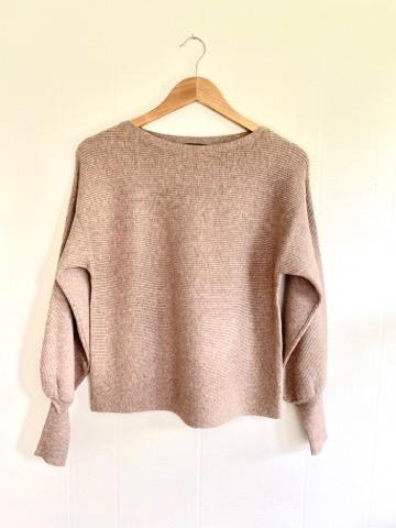 Still Falling For You Mocha Sweater (5722801602720)