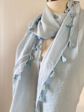 Load image into Gallery viewer, Tassel Spring Scarves