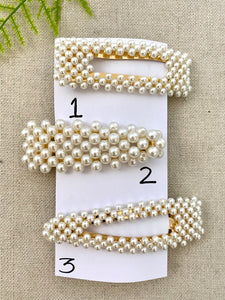 Perfectly Poised Pearl Hair Clip (5081431474220)