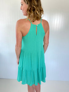 Mint Condition Dark Mint Sun Dress