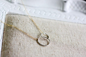Linked To You Circle Necklace (4879614443564)