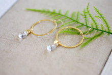 Make the Most Of It Precious Gem Dangle Earrings (5031562117164)