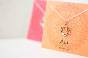 Surrounded in Serenity Bronze Chakra Necklace