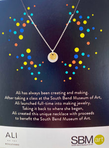 South Bend Museum of Art Charity Necklace (5806468038816)