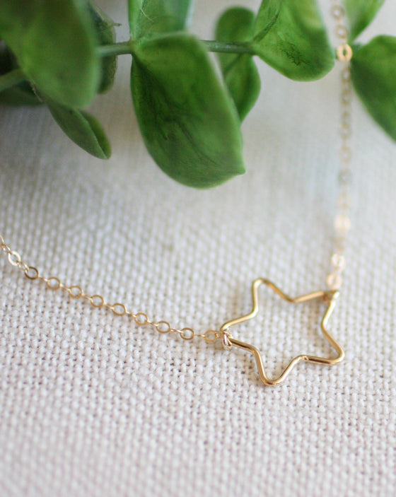 Re-Write the Stars Handmade Necklace (5529466896544)