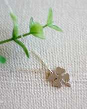 Load image into Gallery viewer, A Little Extra Luck Larger Clover Necklace (5607574274208)
