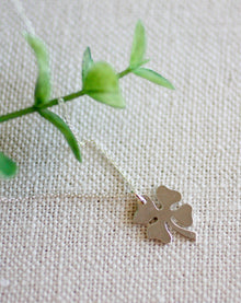 A Little Extra Luck Larger Clover Necklace (5607574274208)