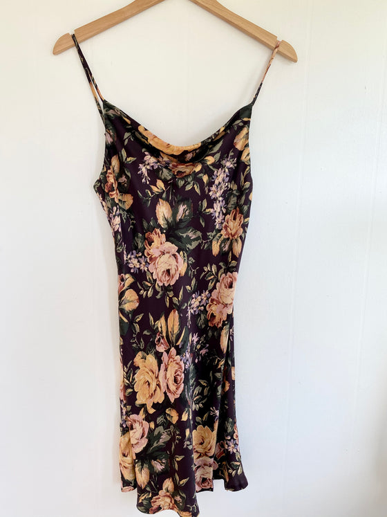 My Oasis Floral Sleeveless Dress (5809275338912)